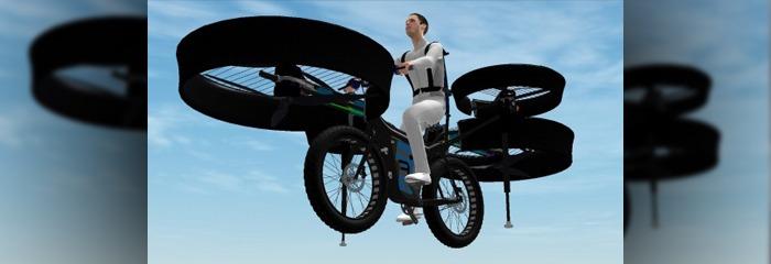 flying bicycle
